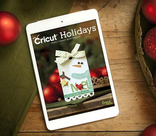 cricut holidays craft magazine