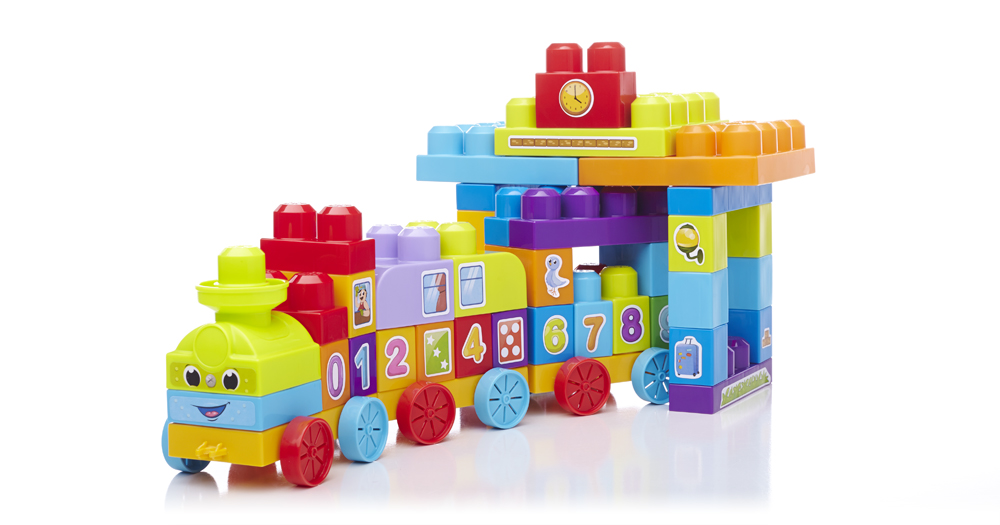 megabloks first builders train