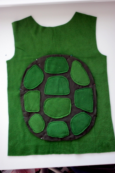 diy ninja turtle costume