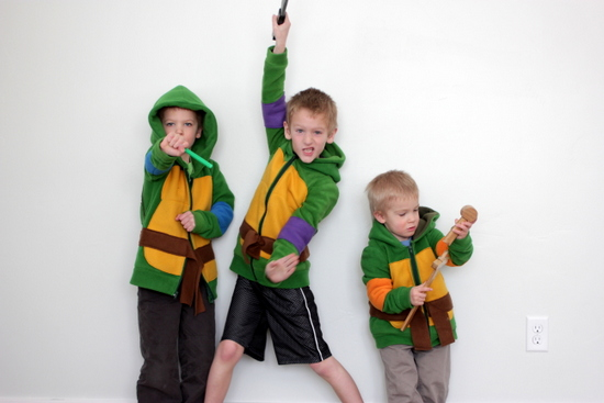kids ninja turtle costume  sc 1 st  Vanilla Joy & TUTORIAL* DIY Ninja Turtle Hoodies | Vanilla Joy