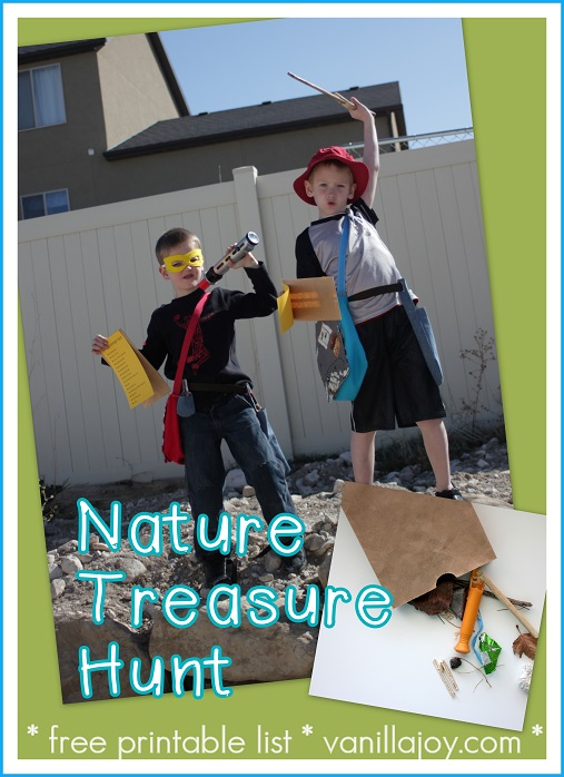nature treasure hunt