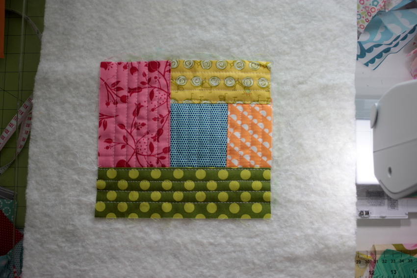 quilt as you go method