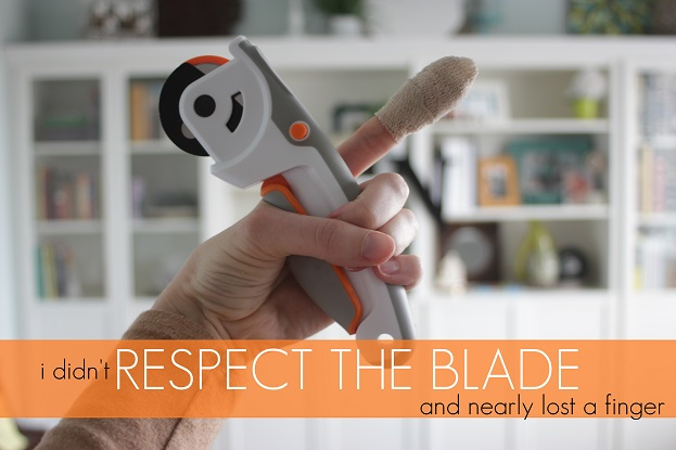 respect the blade