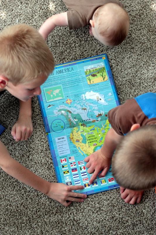 childrens atlas sterling publishing