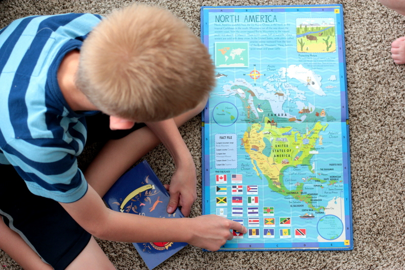 childrens activity atlas