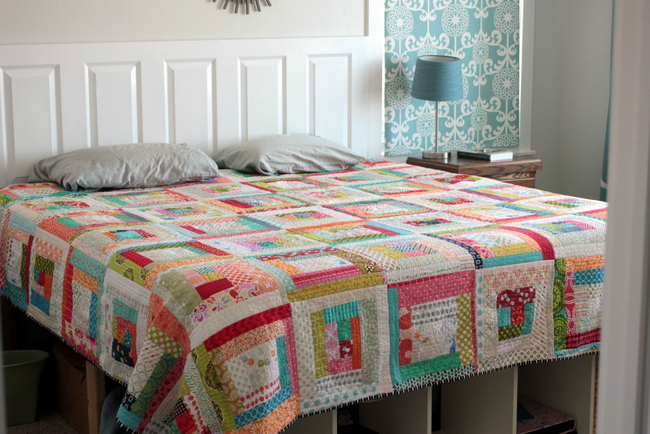 how to make a quilt as you go quilt