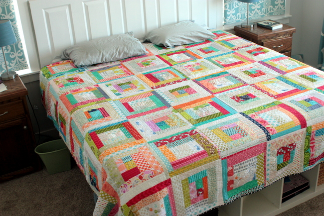 quilt as you go tutorial