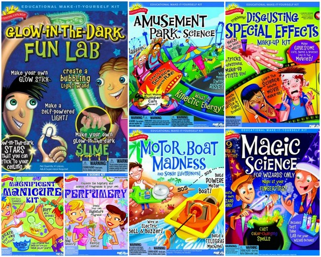 scientific explorer kits