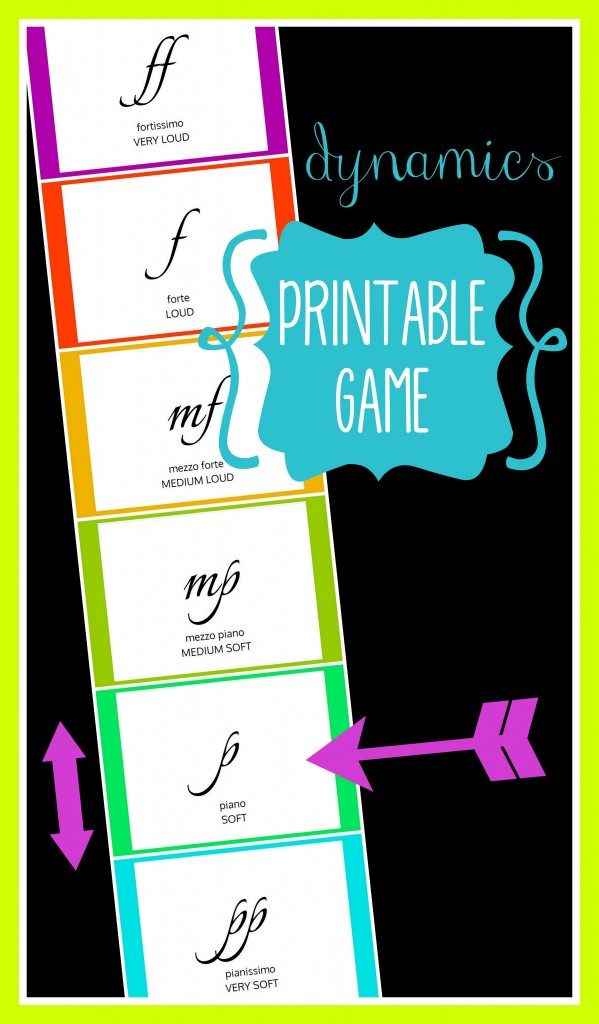 dynamics printable game