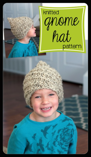 knitted gnome hat pattern