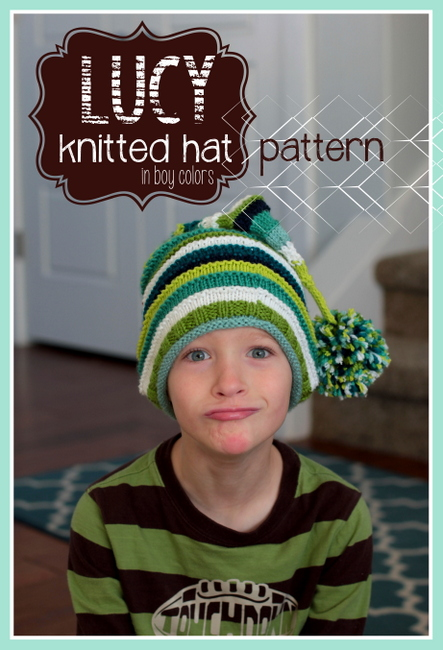 knitted hat stripes