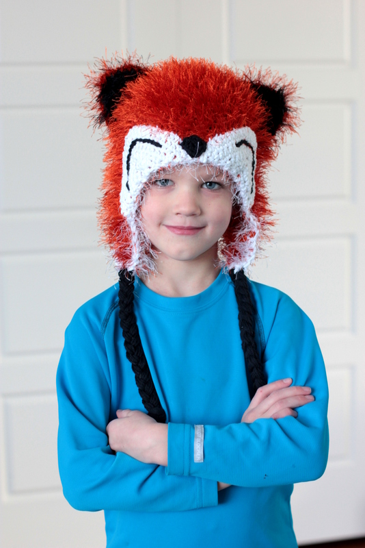 crochet fox hat pattern