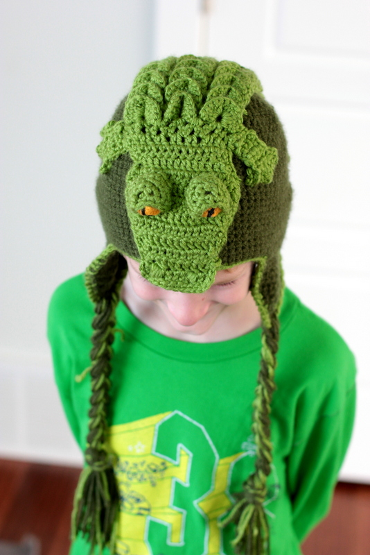 crocodile hat pattern