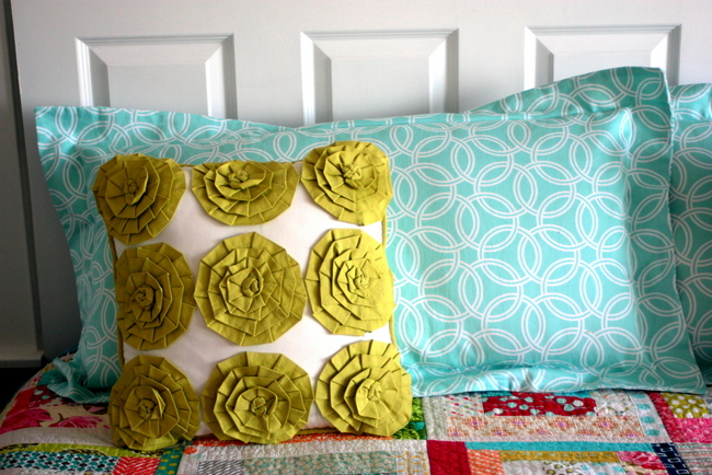 king pillow sham tutorial for bed flange