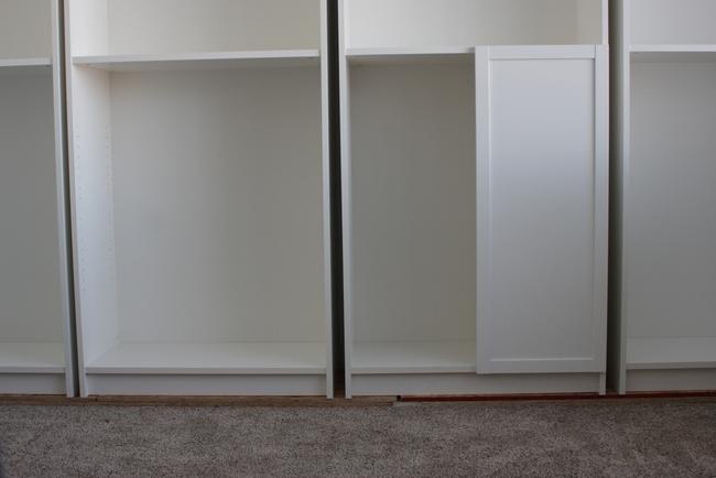 IMG_9442 & DIY Built-In Bookshelves: IKEA Billy Hack | Vanilla Joy