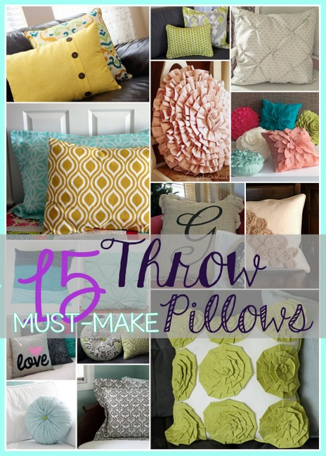 throw pillow sham pattern tutorial how to diy