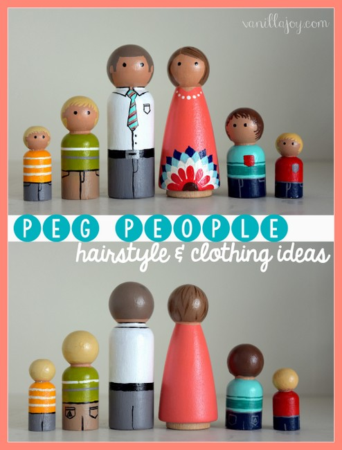 peg people clothing ideas
